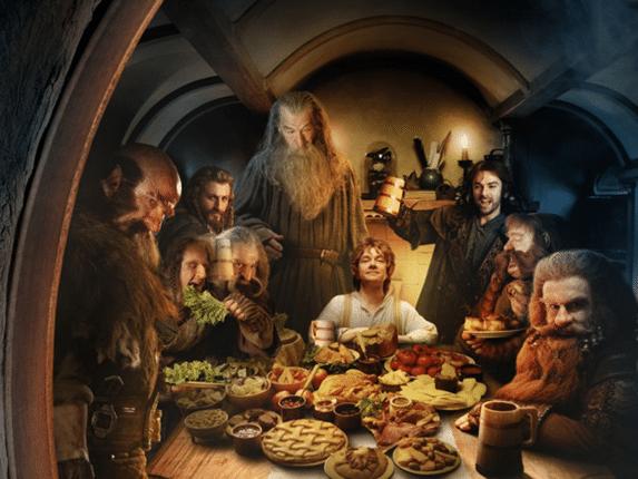 festin hobbit bien manger